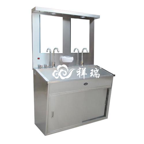 不锈钢洗手池(双人位)
